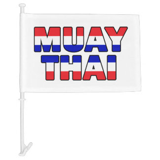 Muay Thai Car Flag