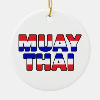 Muay Thai Ceramic Ornament