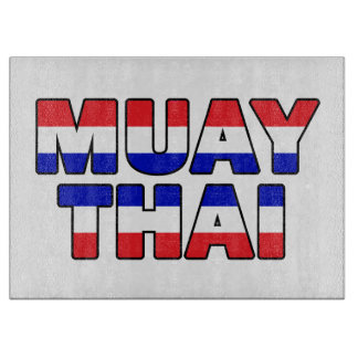 Muay Thai Cutting Board