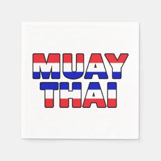 Muay Thai Disposable Serviette