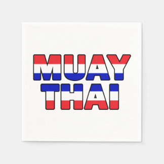 Muay Thai Disposable Serviettes