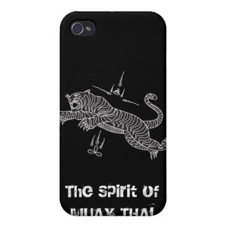MUAY THAI Iphone 4 black case Covers For iPhone 4