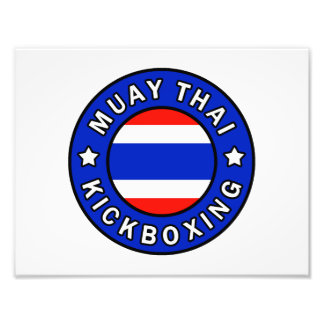 Muay Thai Kickboxing Photograph
