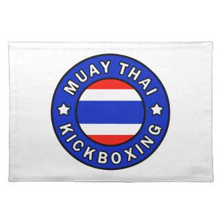 Muay Thai Kickboxing Place Mats