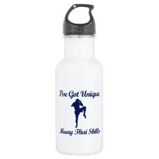 muay thai martial art designs 532 ml water bottle