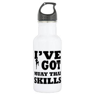 Muay Thai Martial Arts designs 532 Ml Water Bottle