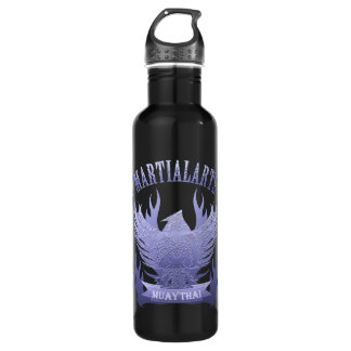 Muay Thai, Martial Arts, Kick Boxing and Garuda 710 Ml Water Bottle
