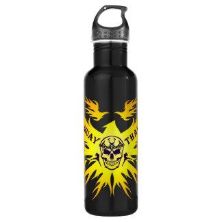 Muay Thai, Martial Arts, Kick Boxing, Garuda and S 710 Ml Water Bottle