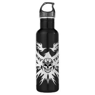 Muay Thai,Martial Arts,Kick Boxing,Garuda,Skull 710 Ml Water Bottle