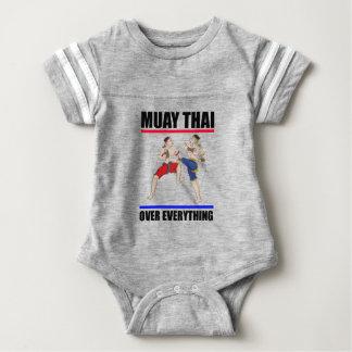 Muay Thai over everything Baby Bodysuit
