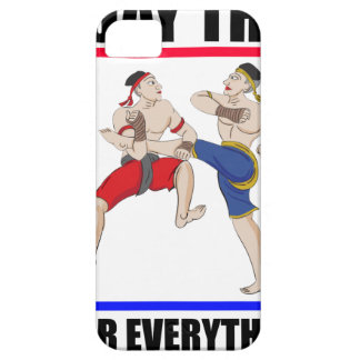 Muay Thai over everything Barely There iPhone 5 Case