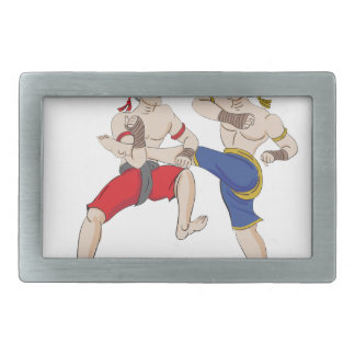 Muay Thai over everything Belt Buckle
