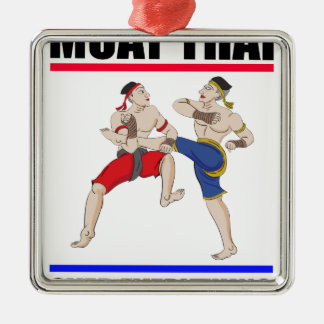 Muay Thai over everything Metal Ornament