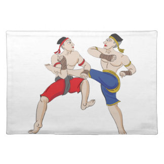 Muay Thai over everything Placemat