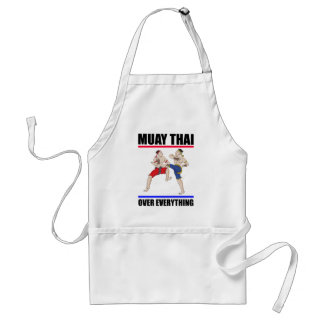 Muay Thai over everything Standard Apron