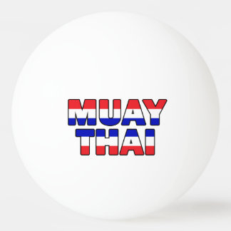 Muay Thai Ping Pong Ball