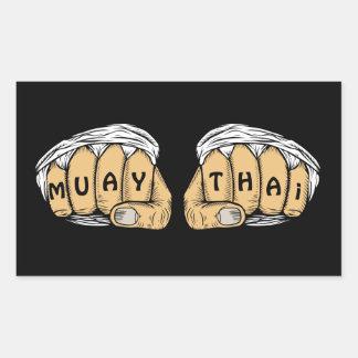 Muay Thai Stickers