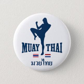 Muay Thai Thailand Netherlands 6 Cm Round Badge
