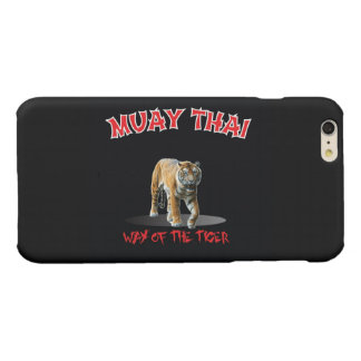 Muay Thai Way of The Tiger iPhone Black
