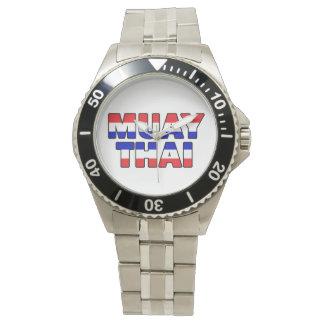 Muay Thai Wrist Watch