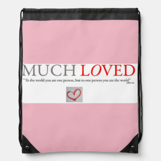 Much Loved -  Baby girl travel backpack