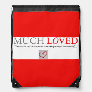 Much Loved - Valentines Day Backpack