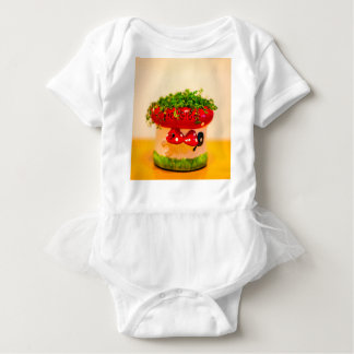 Much luck flower pot baby bodysuit