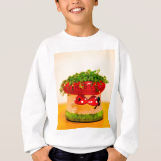 Much luck flower pot sweatshirt