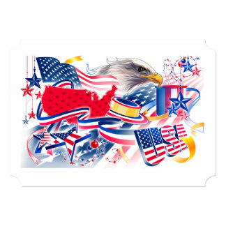 Much To Celebrate July 4th Party Invitation