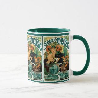 Mucha Art Nouveau:  Bieres de la Meuse Mug