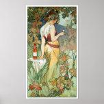 Mucha Art Nouveau Poster: Cognac
