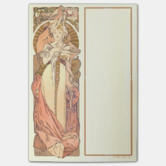Mucha Austrian Pavillion Vintage Art Nouveau Post-it Notes