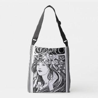 Mucha Cocorico Art Nouveau Cross Body Bag