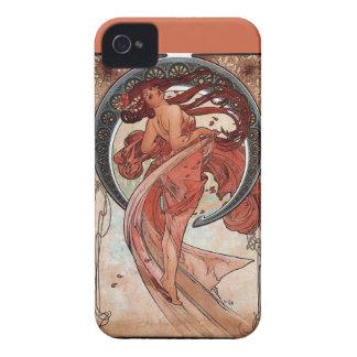 mucha dance woman art deco Case-Mate iPhone 4 case