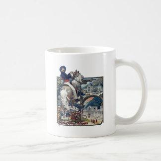 Mucha Luchon Old European City Art Nouveau Coffee Mug