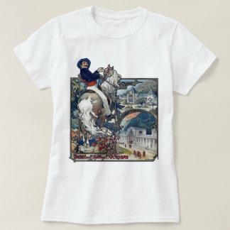 Mucha Luchon Old European City Art Nouveau T-Shirt