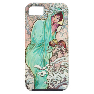 Mucha Winter iPhone 5 Cover