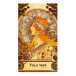 Mucha Zodiac Pack Of Standard Business Cards