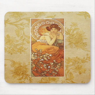 Mucha's Topas Mouse Pad