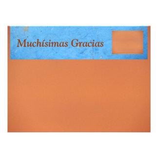 Muchísimas Gracias Card - Multipurpose Card Personalized Invitations