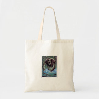 Mucky Vintage Monster Budget Tote Bag