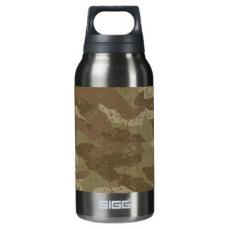 Mud camouflage insulated water bottle