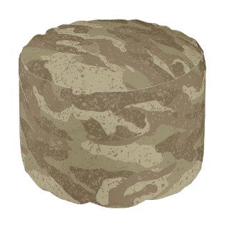 Mud camouflage pouf
