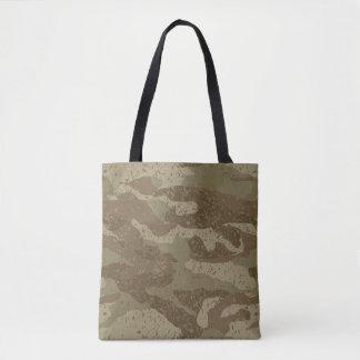 Mud camouflage tote bag