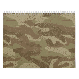 Mud camouflage wall calendars