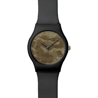 Mud camouflage watch