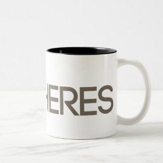 MUD in Your Eye Two-Tone Coffee Mug