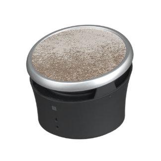 Mud Lover Brown and Ivory Splash Style Bluetooth Speaker