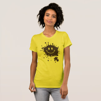 Mud Smiley Forrest Gump T-Shirt