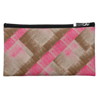 Mud Splash Style Pink Aged Paint + Pick Your Color Travel Accessory Bags
